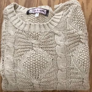 OONA & MAUD cable knit sweater